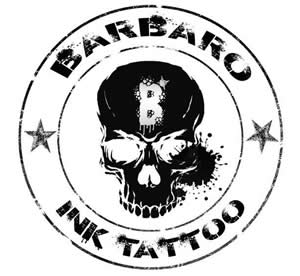 logo barbaro ink tattoo