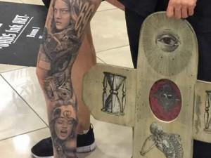 tatuaje premiado