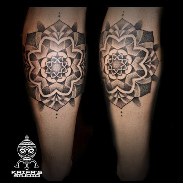 Pande Lee Gemelo Mandala Dot Work Tatuajes Online - Tattoo-gemelos