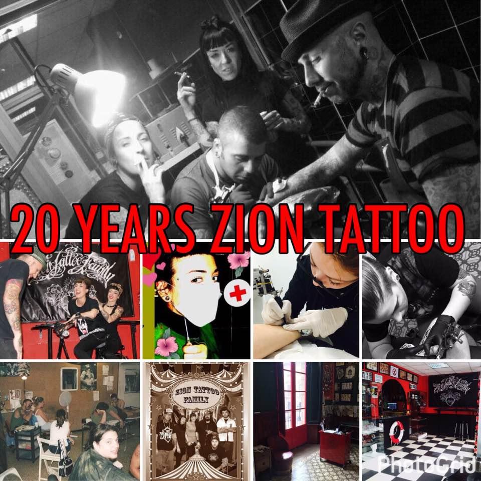 20 años de Zion Tattoo