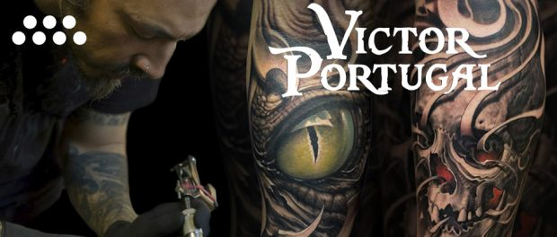 Víctor Portugal en Arte Sano Tattoo