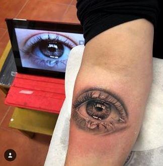 Tatuajes De Ojos Ojos Tatuados Tatuajes Donde Aparecen Ojos Tatuados