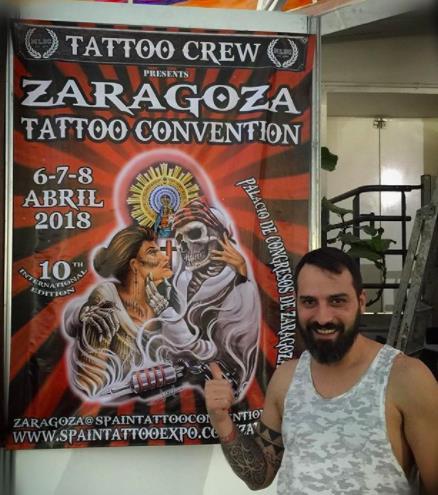 Joel y las tattoo conventions