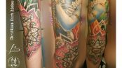 Tatuaje de Krishna