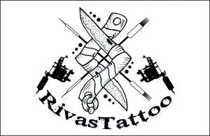 Rivas Tattoo Logo