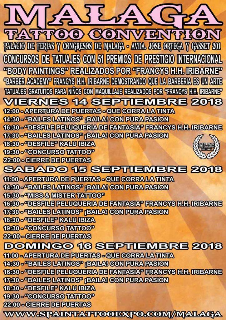 cartel malaga tattoo convention