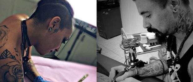 tatuadores colaboradores en Madrid