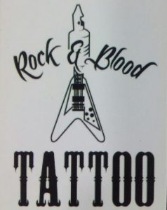 Rock and Blood Tattoo