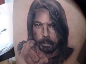 Time Lapse de Dave Grohl