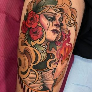 tatuaje de María Lavía 1
