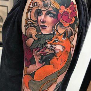 tatuaje de María Lavía 2