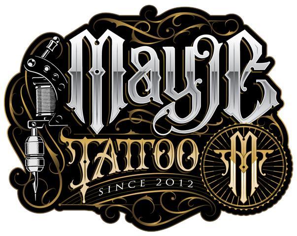 mayje tattoo shop logo tatuajes terrassa