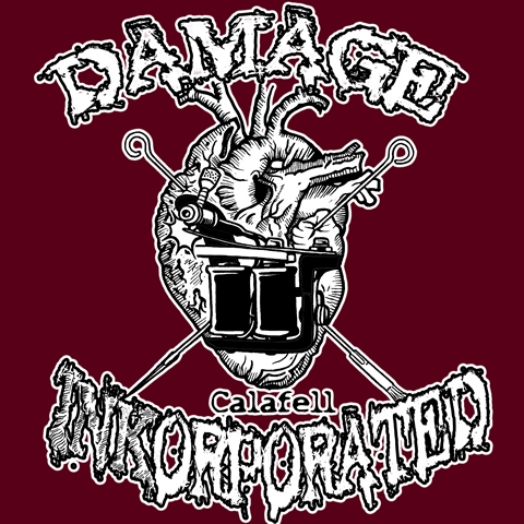 DAMAGE INKORPORATED CALAFELL b_red