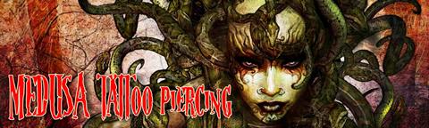 Medusa Tattoo Piercing