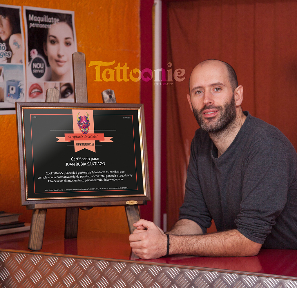 Estudio de tatuajes certificado