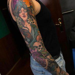 tatuaje de María Lavía 3