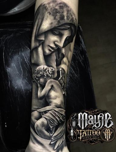Tatuaje de Michael - Mayje Tattoo - Estudio de Tatuajes en Terrassa (Barcelona)